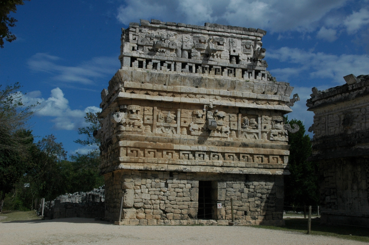 The Chuch,Chichen Itza.